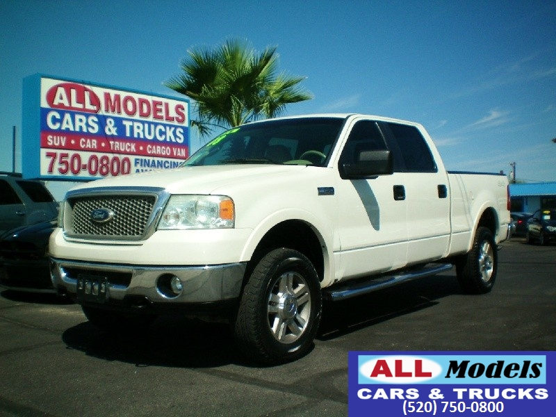 2008 Ford F-150 4WD SuperCrew 139   2008 Ford F150 SuperCrew Cab Lariat Pickup  VIN 1FTPW14