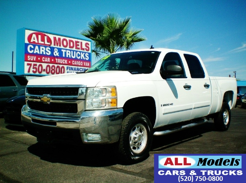 2008 Chevrolet Silverado 2500HD 2WD Crew Cab 153  2008 Chevrolet Silverado 2500 HD Crew Cab LT