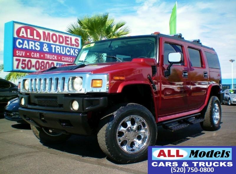 2003 Hummer H2 4dr Wgn  2003 HUMMER H2 Sport Utility 4D  VIN 5GRGN23U93H118174 Ext Color Ru