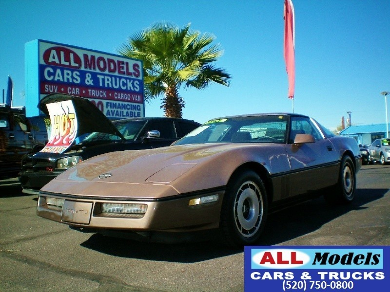 1984 Chevrolet Corvette 2dr Hatchback Coupe VIN 1G1AY0782E5121043 Ext Color Beige Mileage 7523
