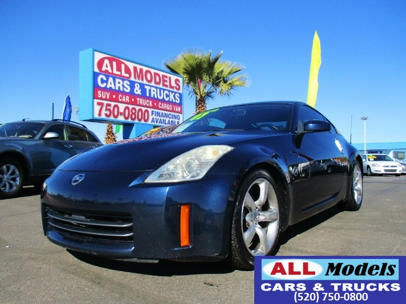 2007 Nissan 350Z 2dr Cpe Manual Enthusiast    2007 Nissan 350Z Enthusiast Coupe 2D