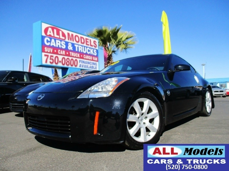 2003 Nissan 350Z 2dr Cpe Performance Manual Trans   Custom 2003 Nissan 350Z Enthusiast Coupe 2