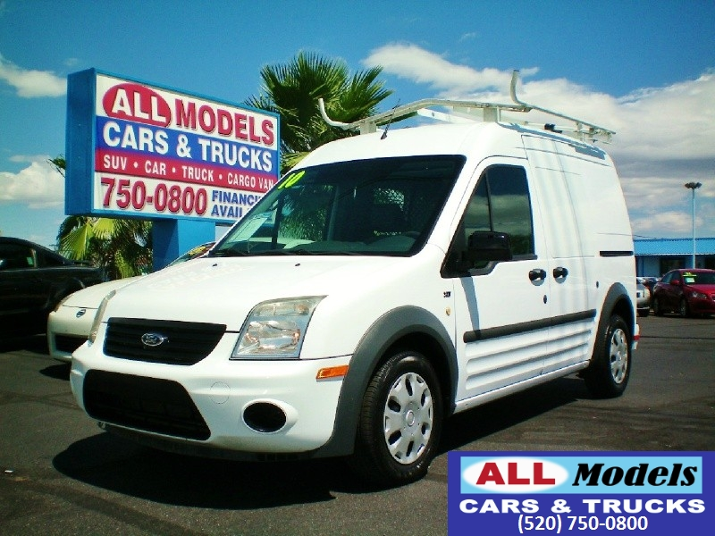 2010 Ford Transit Connect 1146 XLT wo side or rear door   2010 Ford Transit Connect Cargo XL