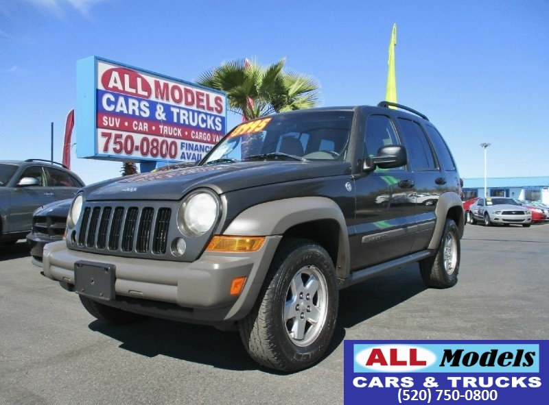 used 2006 jeep liberty sport for sale tucson az cargurus. Black Bedroom Furniture Sets. Home Design Ideas