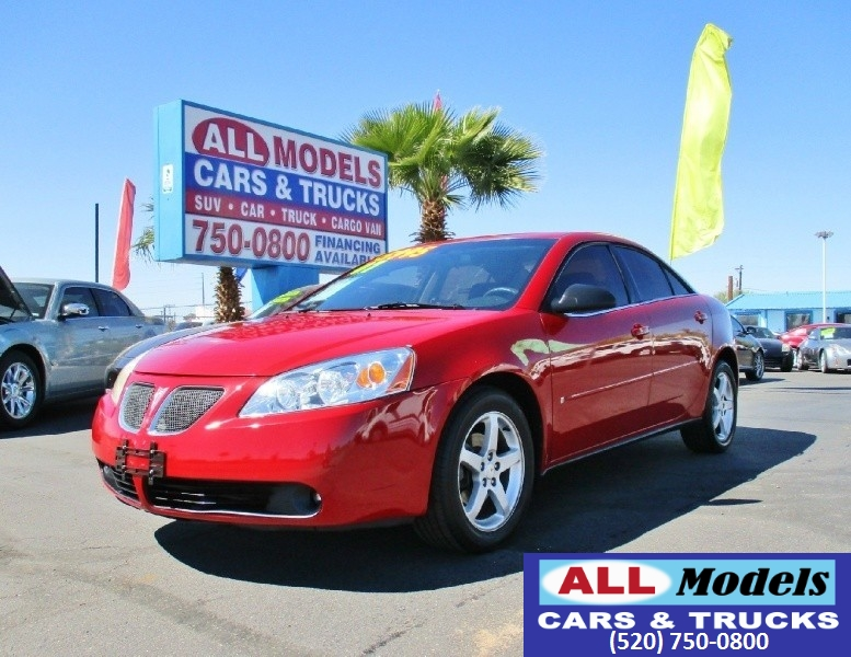 2007 Pontiac G6 4dr Sdn G6   2007 Pontiac G6 Sedan 4D  VIN 1G2ZG58N674126709 Ext Color Re