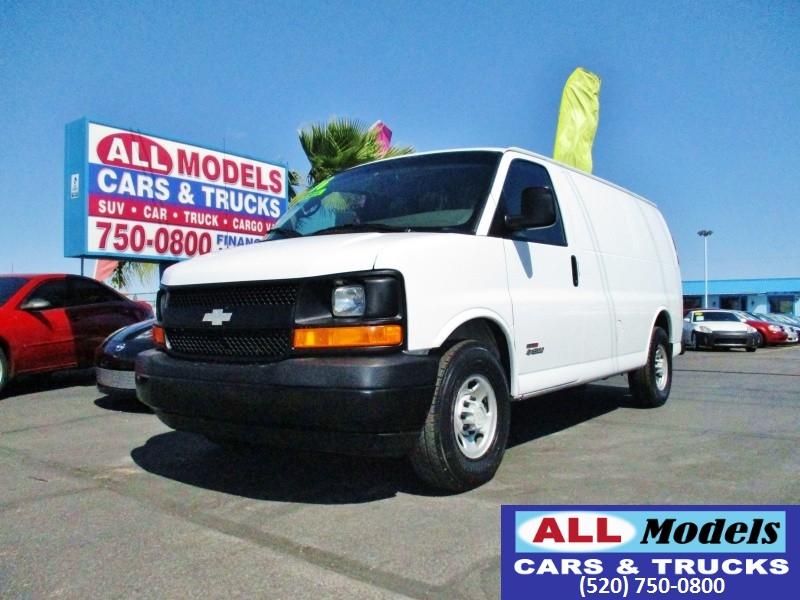 2006 Chevrolet Express Cargo Van 3500 135 WB RWD   Diesel    2006 Chevrolet Express 35