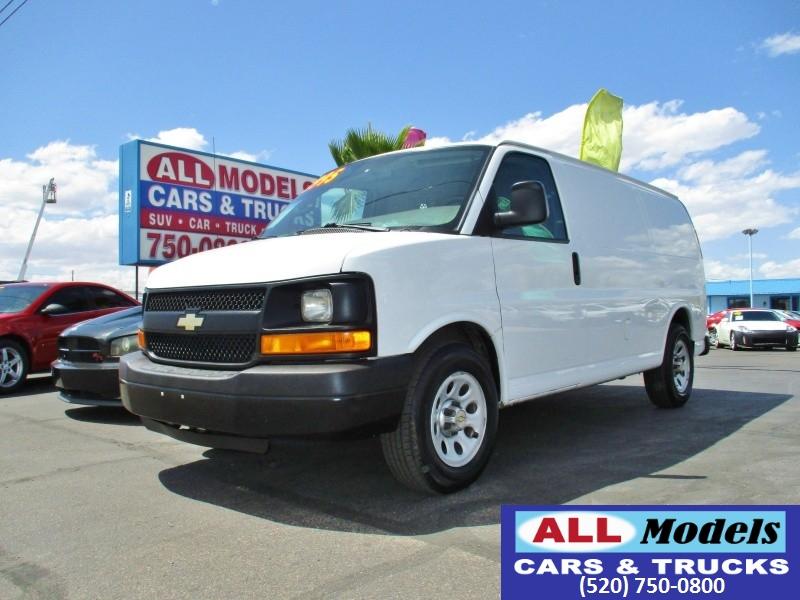 2012 Chevrolet Express Cargo Van RWD 1500 135   2012 Chevrolet Express 1500 Cargo Van 3D