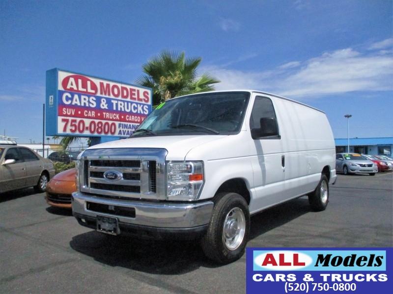 2011 Ford Econoline Cargo Van E-150 Commercial   2011 Ford E150 Cargo Van 3D    VIN 1