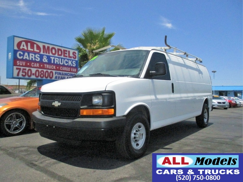 2009 Chevrolet Express Cargo Van RWD 3500 155   2009 Chevrolet Express 3500 Extended Cargo V