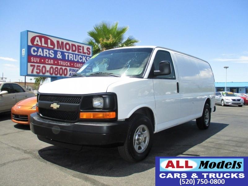 2007 Chevrolet Express Cargo Van RWD 1500 135   2007 Chevrolet Express 1500 Cargo Van  VIN