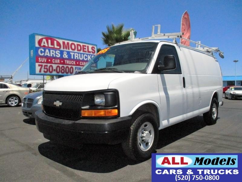 2008 Chevrolet Express Cargo Van RWD 2500 135   2008 Chevrolet Express 2500 Cargo Van 3D