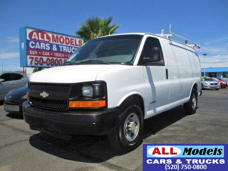 2006 Chevrolet Express Cargo Van 2500 135 WB RWD 2006 Chevrolet Express 2500 Cargo Van 3D