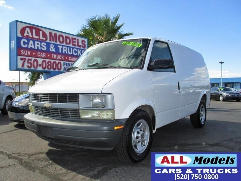 2004 Chevrolet Astro Cargo Van 1112 WB RWD   2004 Chevrolet Astro Cargo Minivan 3D