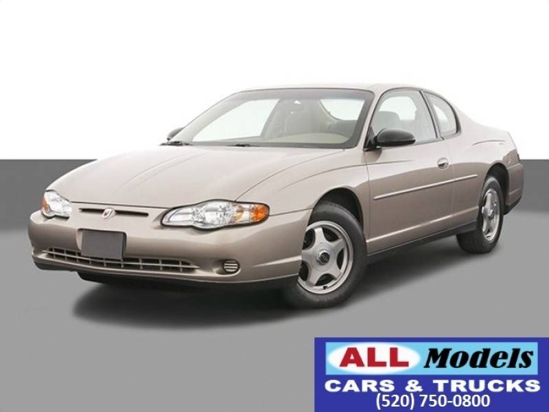 2003 Chevrolet Monte Carlo 2dr Cpe SS 2003 Chevrolet Monte Carlo SS Coupe 2D    VIN 2G1WX