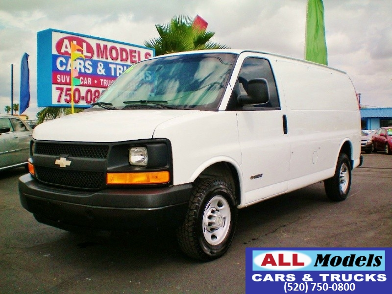 2006 Chevrolet Express Cargo Van 3500 135 WB RWD THIS IS A HARD TO FIND CARGO VAN Most Chevrolet