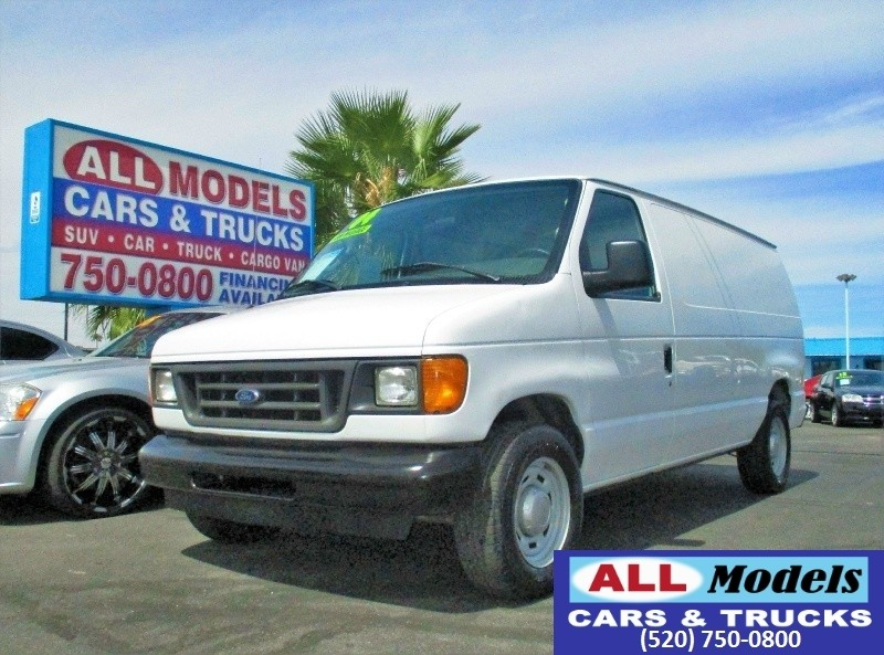 2004 Ford Econoline Cargo Van E-150   SUPER LOW MILEAGE  ONLY 40K Miles   20