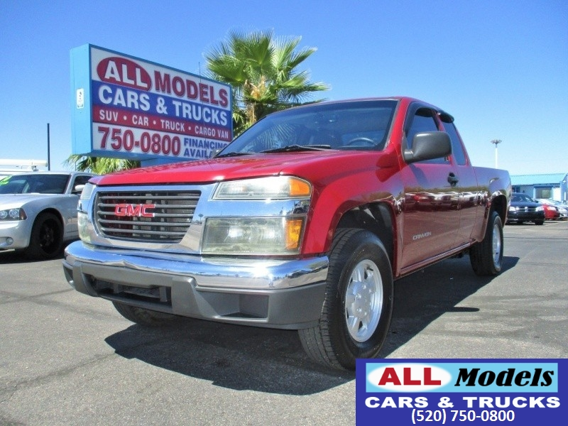 2005 GMC Canyon Ext Cab 1259 WB SLE Z85   2005 GMC Canyon Extended Cab SLE Pickup  VIN 1GT