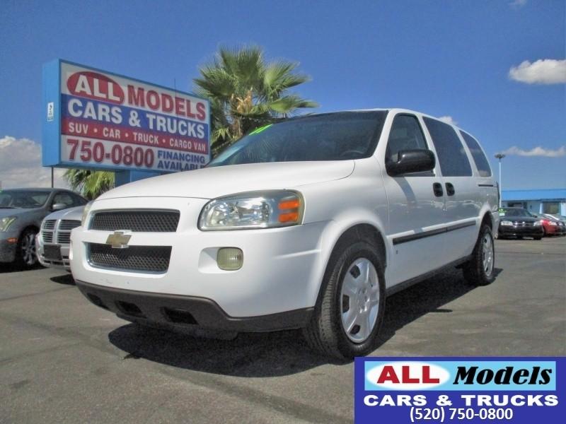 2007 Chevrolet Uplander 4dr Ext WB LS Fleet 2007 Chevrolet Uplander Cargo Minivan  CARGO VAN