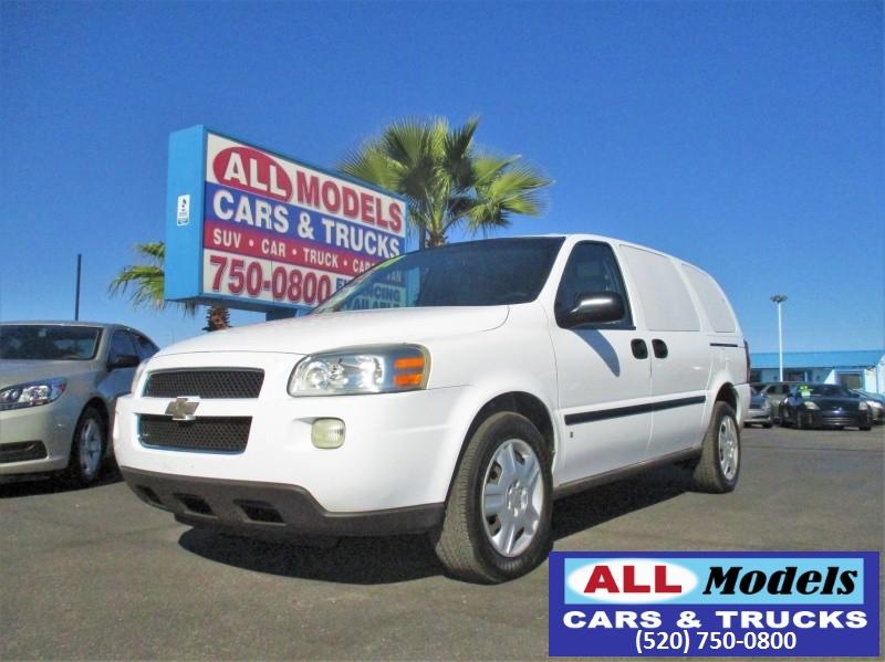 2007 Chevrolet Uplander 4dr Ext WB LS Fleet 2007 Chevrolet Uplander Cargo Minivan  CARGO VAN  V