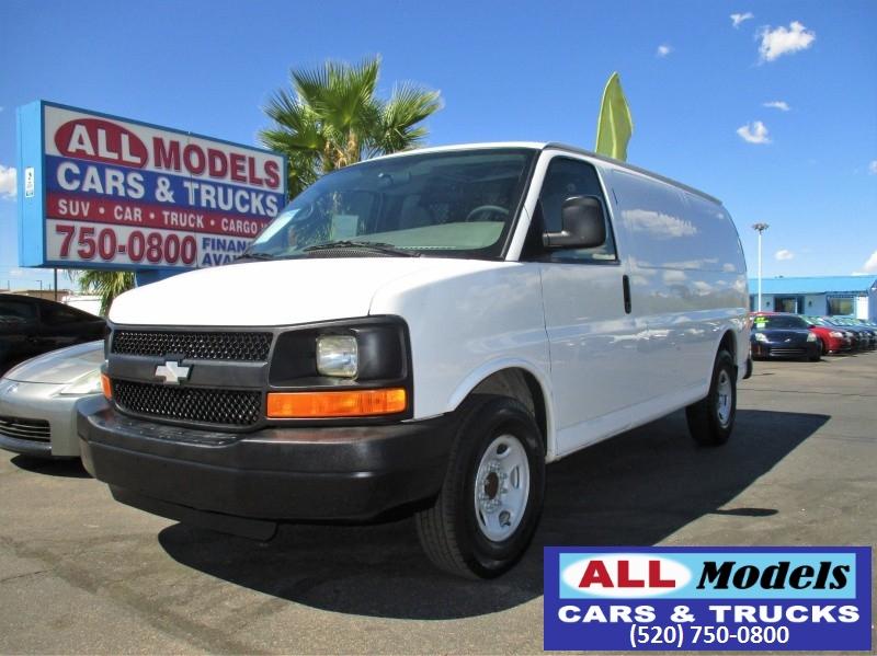 2009 Chevrolet Express Cargo Van RWD 2500 135 2008 Chevrolet Express 2500 Cargo Van 3D