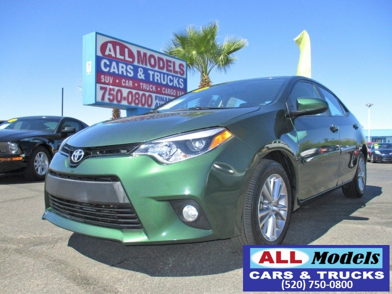 2014 Toyota Corolla 4dr Sdn CVT S Premium Natl  Fully Loaded LOW MILEAGE   2014 T