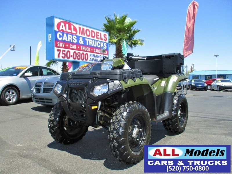 2011 Sportsman 4WD 550 X2 2011 4X4 Polaris Sportsman X2 550 Mileage 1193 Color Sage Green Price
