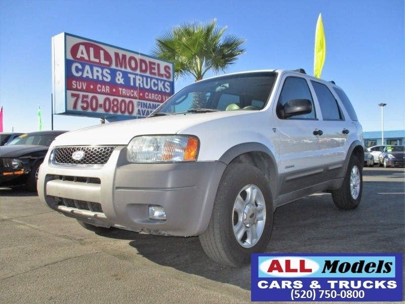 2002 Ford Escape 4dr 103 WB XLT 4WD Sport Fresh Trade Extremely Clean Fully Loaded Leather Sunroo
