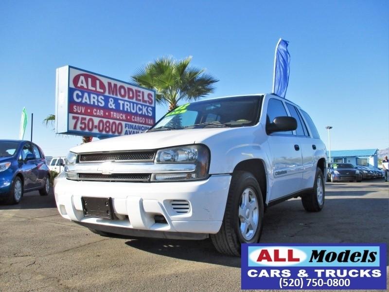 2002 Chevrolet TrailBlazer 4dr 4WD LS   2002 Chevrolet TrailBlazer LS 4WD Sport Utility