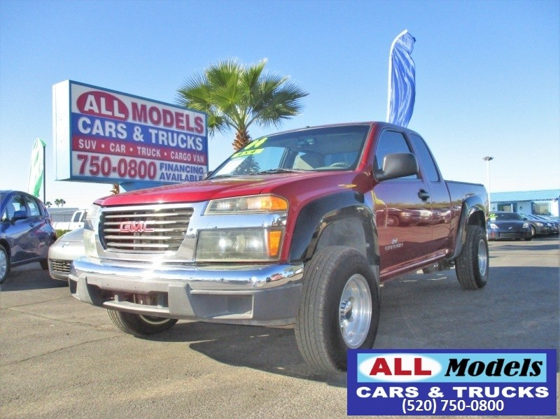 2004 GMC Canyon Ext Cab 1259 WB 4WD SL   2004 GMC Canyon Extended Cab SL 4WD  VIN 1GTDT196X