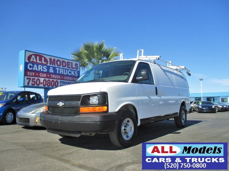 2008 Chevrolet Express Cargo Van RWD 2500 135 2008 Chevrolet Express 2500 Cargo Van 3D    S