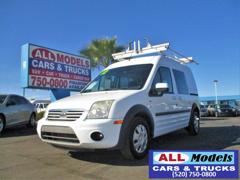 2012 Ford Transit Connect Wagon 4dr Wgn XLT   2012 Ford Transit Connect XLT Van 4D