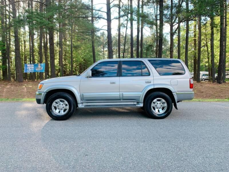 1998 toyota 4runner limited 4dr suv cars - oilville, va at geebo