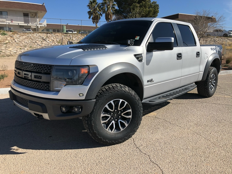 2013 ford f-150 4wd supercrew 145 svt raptor cars - el paso, tx at geebo