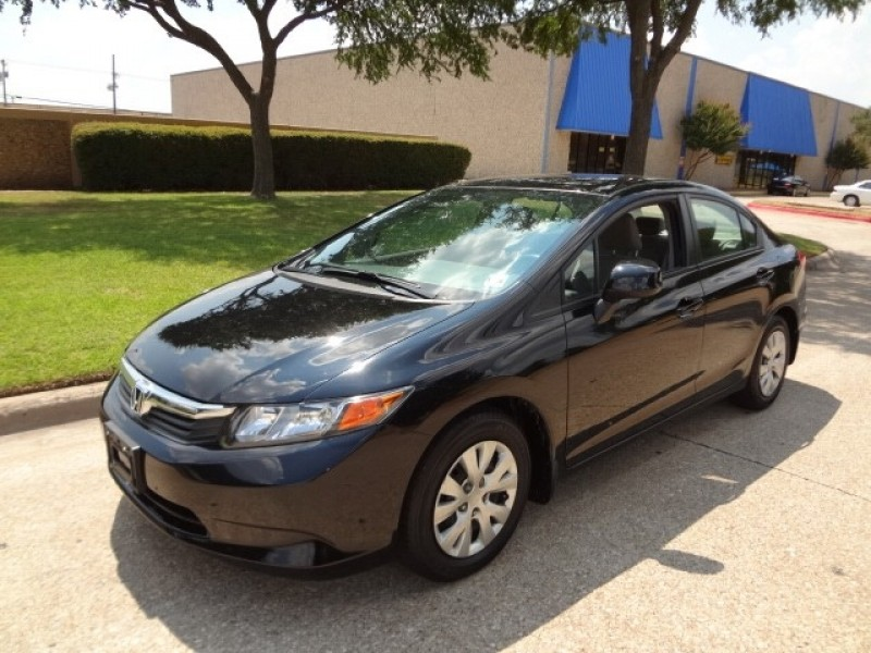 2012 Honda Civic Sdn LX NEW ARRIVAL PRICED BELOW MARKET THIS Civic Sdn WILL SELL FAST This 20