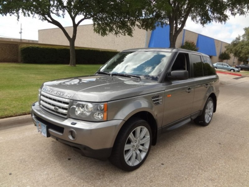 2007 Land Rover Range Rover Sport SC PRICED BELOW MARKET THIS Range Rover Sport WILL SELL FAS