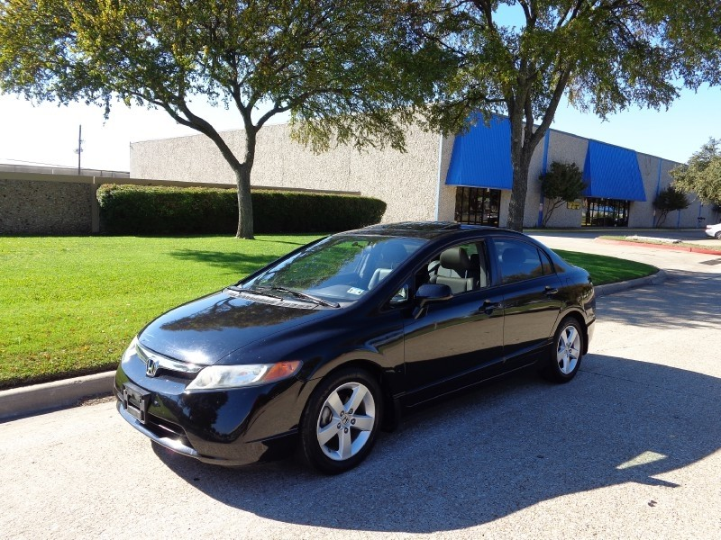 2008 Honda Civic Sdn EX-L NEW ARRIVAL CARFAX 1-OWNER This Nighthawk Black Pearl 2008 Honda Civi