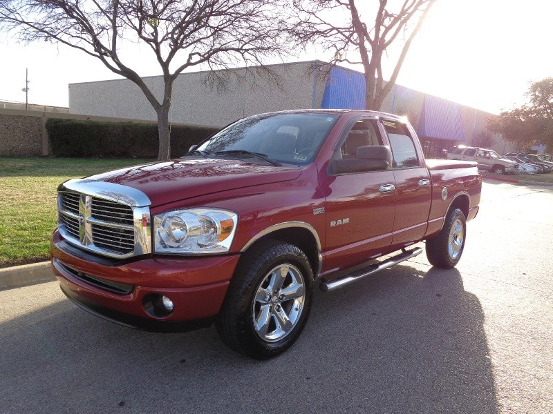 2008 Dodge Ram 1500 WWWDALLASPREOWNEDCOM Red Gray 38040 miles Stock 236067 VIN 1D7HA18258