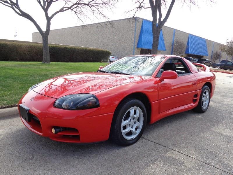1999 Mitsubishi 3000GT 2dr GT Auto WWWDALLASPREOWNEDCOM Red Black 119871 miles Stock 001294