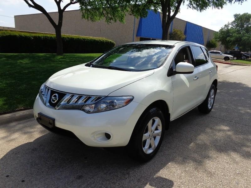 2010 Nissan Murano AWD 4dr S wwwdallaspreownedcom White Tan 42595 miles Stock 107859 VIN J