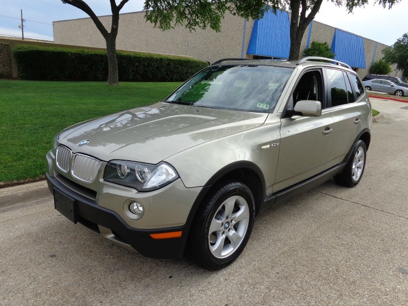 2008 BMW X3 AWD 30si NAVIGATION WWWDALLASPREOWNEDCOM Gold Brown 62452 miles Stock J06921 V
