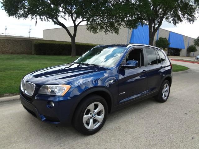2011 BMW X3 AWD 4dr 28i WWWDALLASPREOWNEDCOM Blue Black 37553 miles Stock 704902 VIN 5UXWX