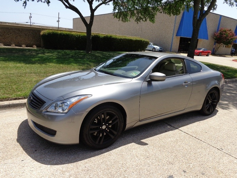 new and used infiniti g37 coupe for sale in dallas tx the car connection. Black Bedroom Furniture Sets. Home Design Ideas