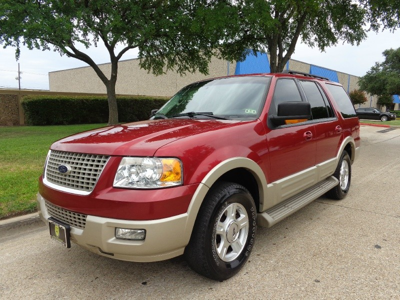 2006 Ford Expedition 4dr Eddie Bauer Red Tan 138380 miles Stock A66717 VIN 1FMPU17536LA66717
