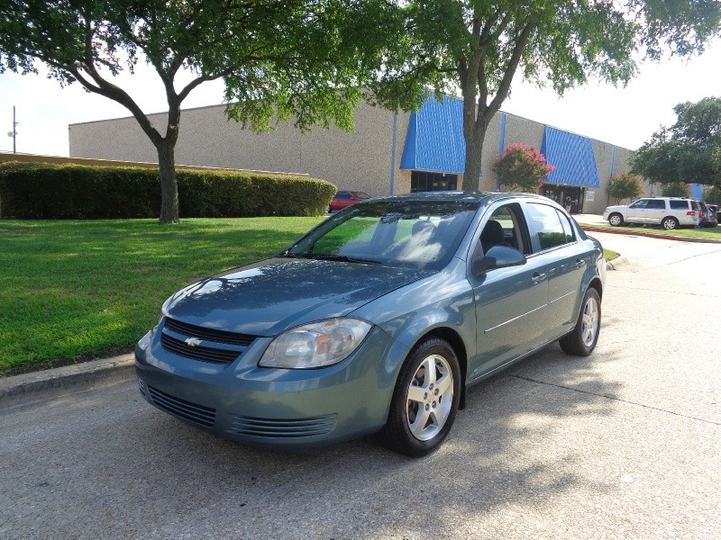 2010 Chevrolet Cobalt 4dr Sdn LT w2LT WWWDALLASPREOWNEDCOM Blue Black 62586 miles Stock 209
