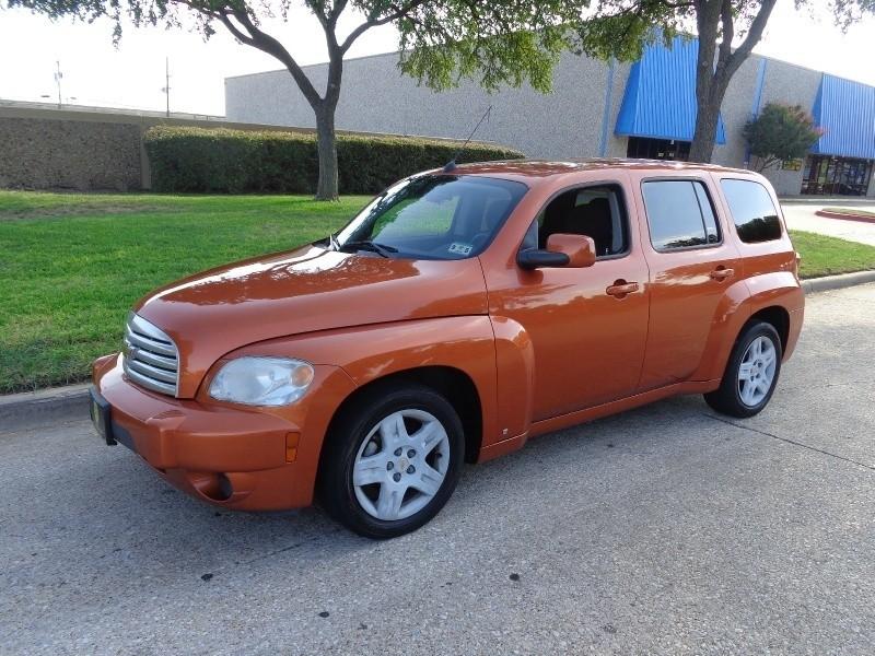 2008 Chevrolet HHR FWD 4dr LT WWWDALLASPREOWNEDCOM Orange Black 106213 miles Stock 521956 V