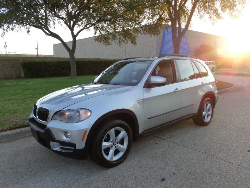 2008 BMW X5 AWD 4dr 30si Silver Gray 71899 miles Stock 009876 VIN 5UXFE43558L009876