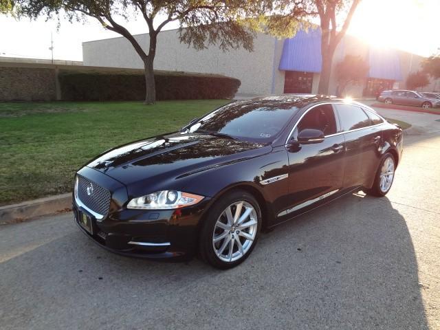 2013 Jaguar XJL Supercharged 4dr Sdn XJL Supercharged RWD WWWDALLASPREOWNEDCOM Black Black 46
