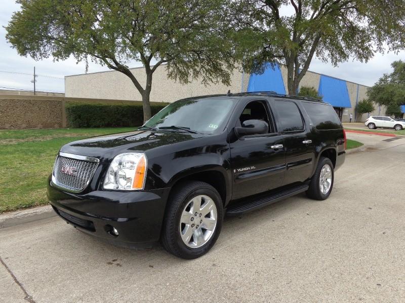 2009 GMC Yukon XL WWWDALLASPREOWNEDCOM Black Black 108124 miles Stock 152037 VIN 1GKFC360