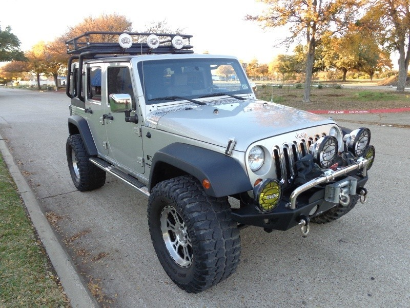 2007 Jeep Wrangler 4WD 4dr Unlimited X 2007 Jeep Wrangler 4WD LIFTED MUD TIRES PROCOMP WHEELSROO