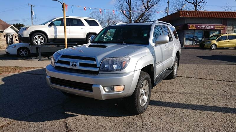 2005 toyota 4runner sport edition 4wd 4dr suv cars - dearborn heights, mi at geebo